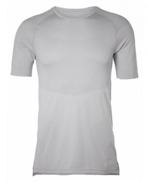 Athletic Seamless Tee M, grey chip
