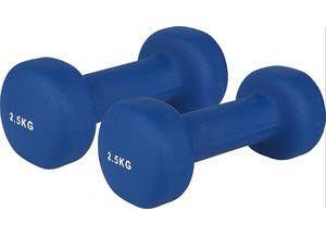 V3TEC Neoprenhantel,blau 2x2,5kg