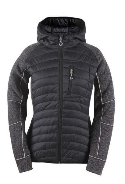 2117 Womens wool-like hybrid jacket