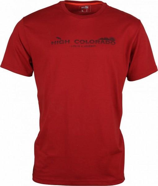 GARDA 4-M, He. T-Shirt, red dahlia