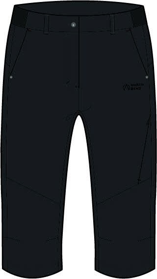 North Bend Extend 3/4 pants W,black