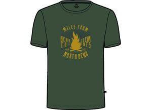 VERTICAL Tee He.T-Shirt,GREEN UTILI