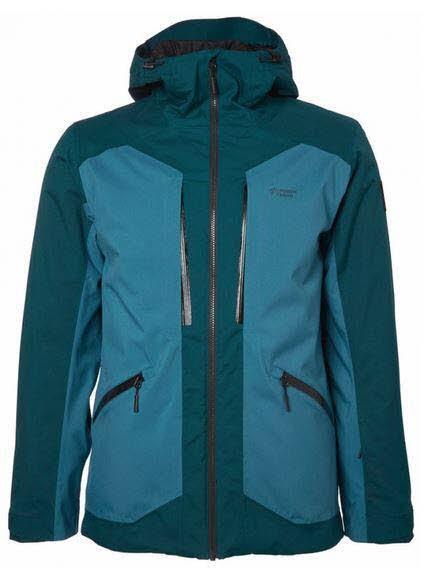 Fernie Ski Jacket M,BLUE POND