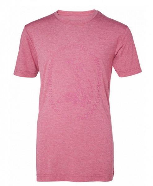 Vertical Tee JR,pink ling
