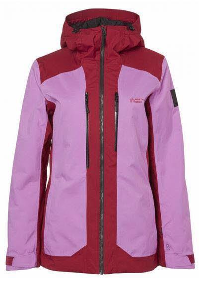 North Bend Fernie Ski Jacket W,PINK