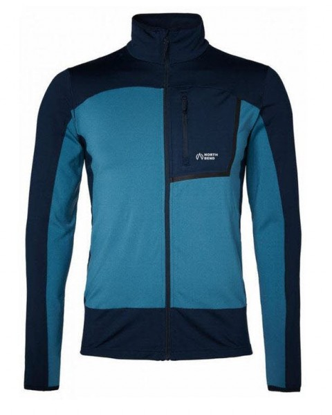 North Bend Nevis Zip Sweater M,blue