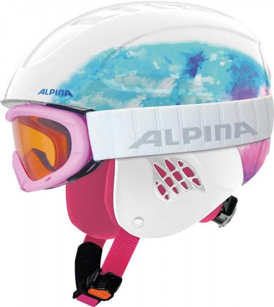 Alpina CARAT Set Kinderskihelmset