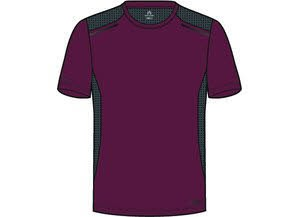 ExoCool Tee M,RED CURRANT