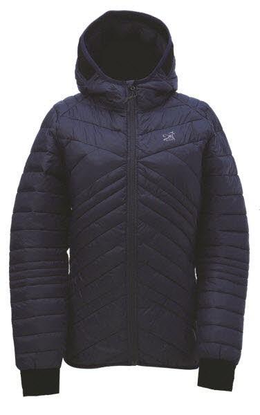 Womens Eco light padded jacket Skog